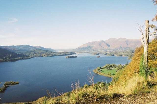 Derwent Water from the Watendlath road