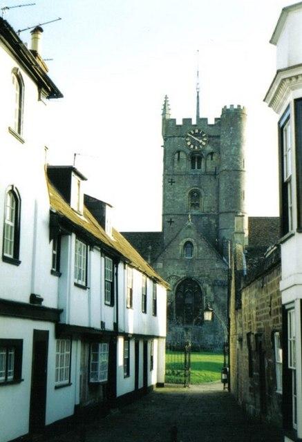 Devizes: parish church of St. John