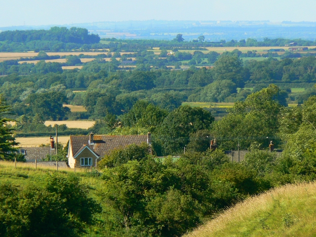 View from Hinton Parva combe