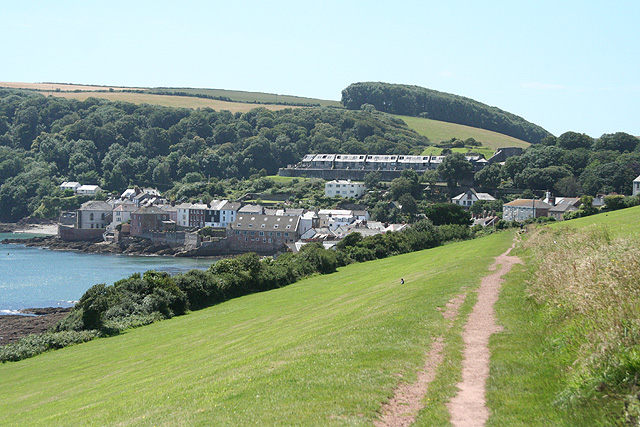 Maker with Rame: nearing Kingsand