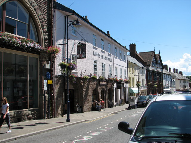 Abergavenny - the King's Head Hotel