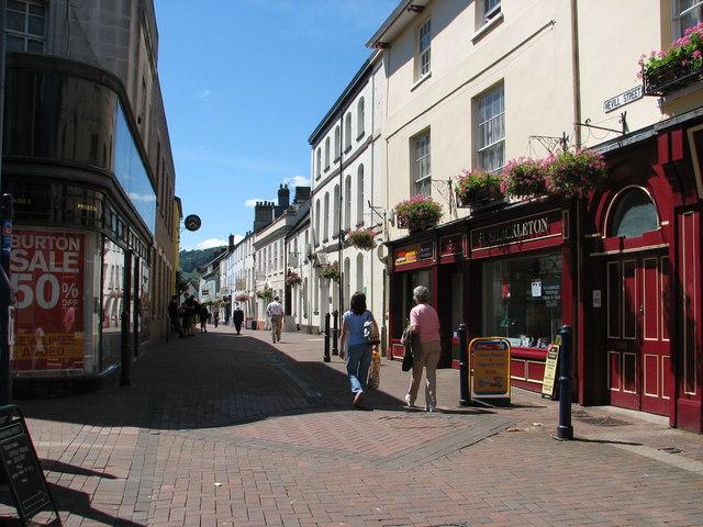 Abergavenny - Nevill Street