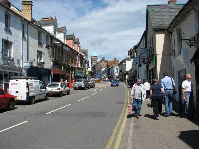 Abergavenny - Cross Street