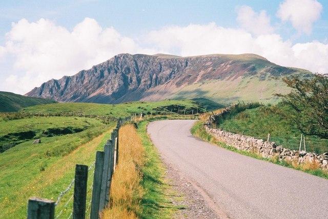 Mynydd Mawr from the B4418