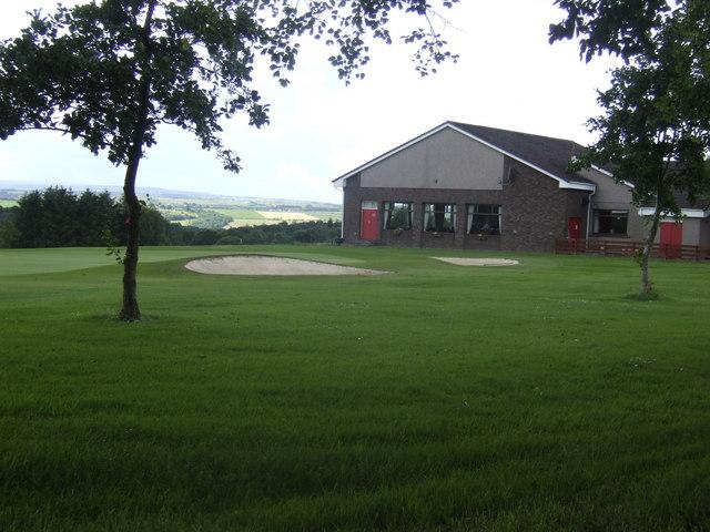 Club house, Carluke Golf Club