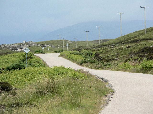 Narrow A road