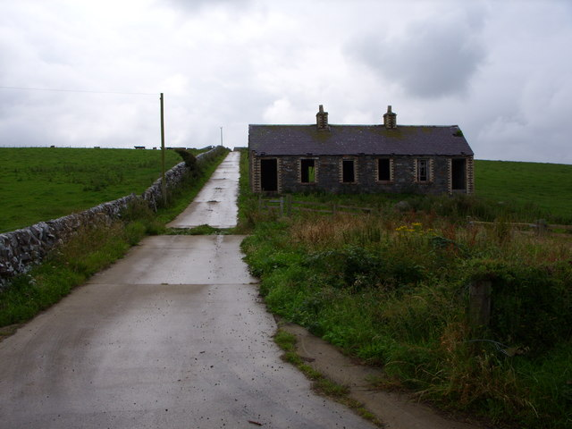 Old Cottage At High Drumskeog