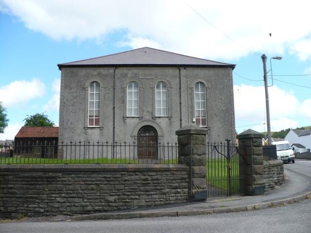 Penuel Baptist Chapel, Rhymney