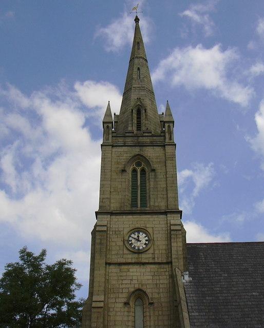 Detail of St Paul's Church Spire