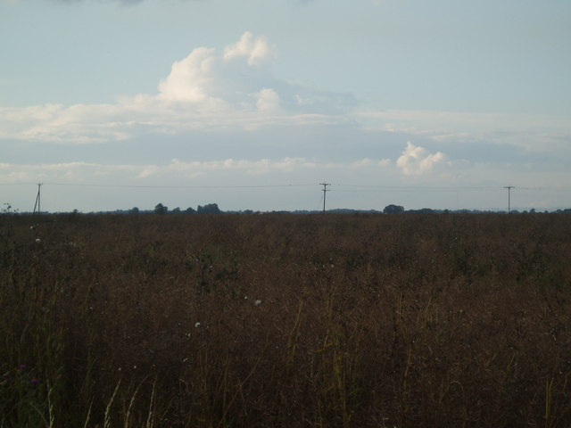 View across Eastoft Carr