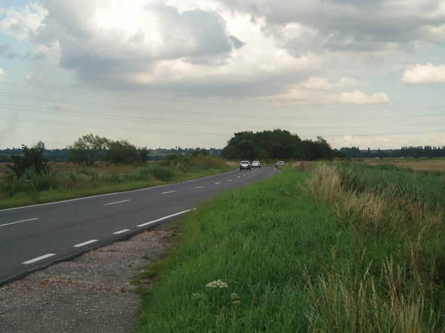 B 1450 towards Ashby Decoy