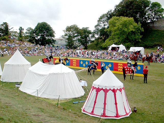 Carisbrooke Castle Tournament.