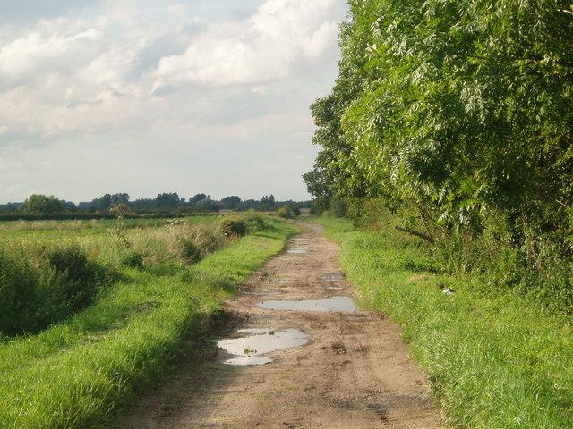 Lane near Scotterthorpe