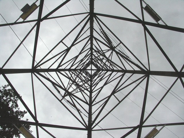 Looking Up The Pylon