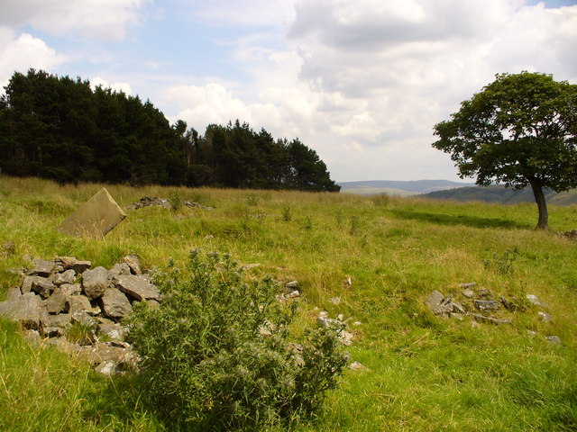 The site of Souter Hill Farm