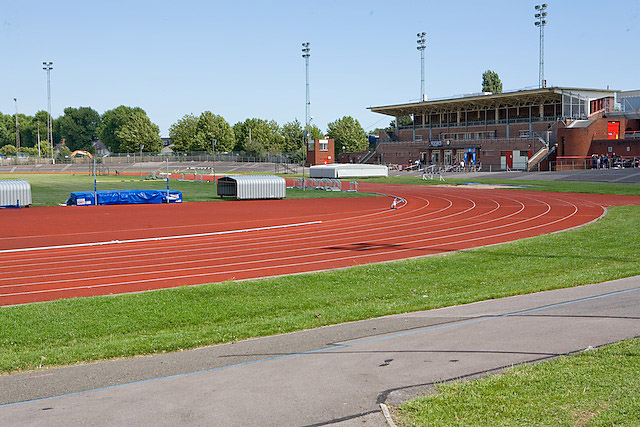 Mountbatten Centre athletics track, Portsmouth