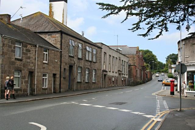 Old Hospital Buildings on Saint Clare Street