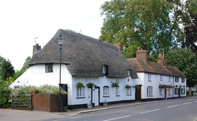 Cottages in the High Street, Wingham, Kent