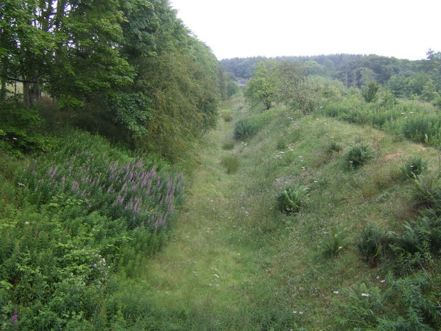 Trackbed of the old Cruden Bay Railway