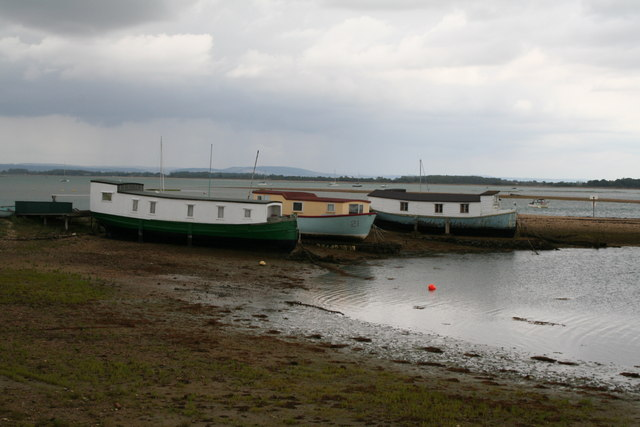 Boats at The Kench, Hayling Island