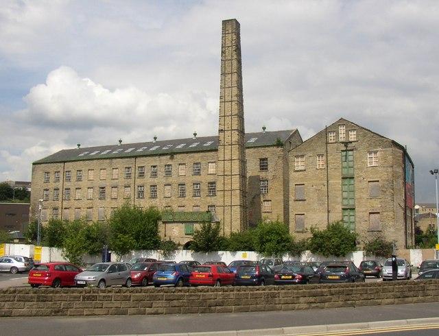 Folly Hall Mills from St Thomas Road, Huddersfield