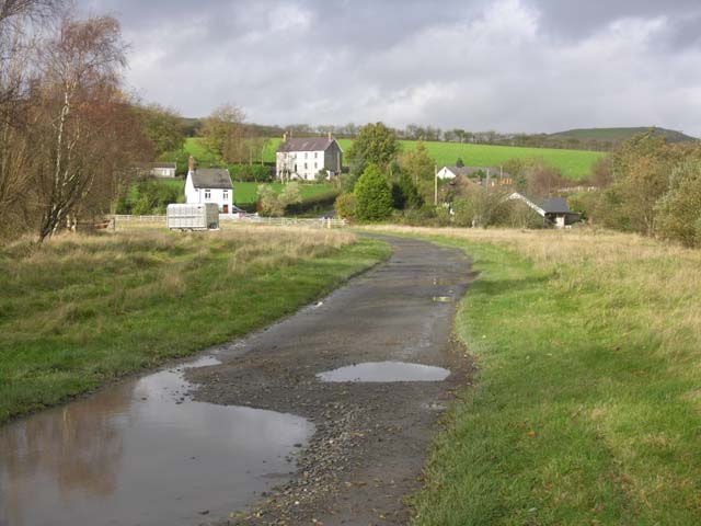 Station site at Ystrad Meurig