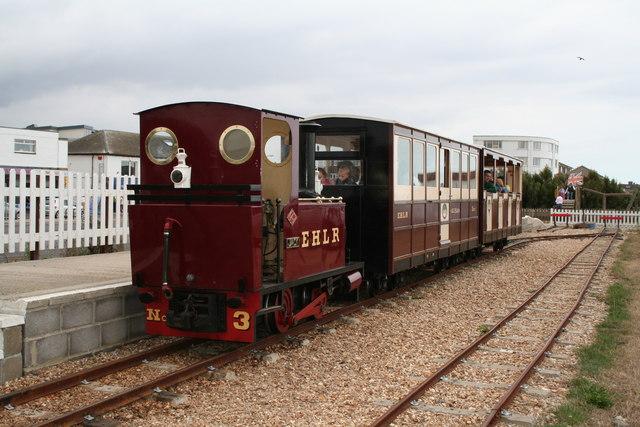 East Hayling Light Railway at Eastoke