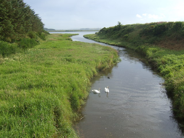 Inlet of the Ythan estuary