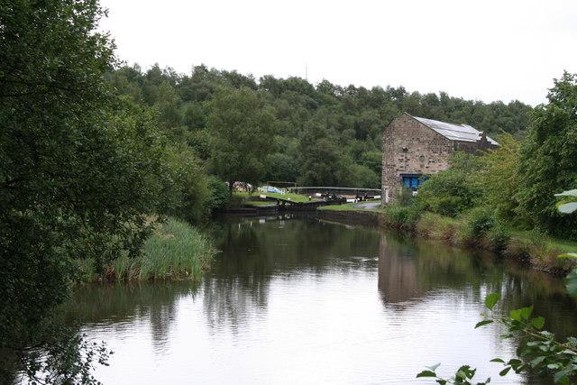 Sladen Lock No 44, Rochdale Canal, Lancashire