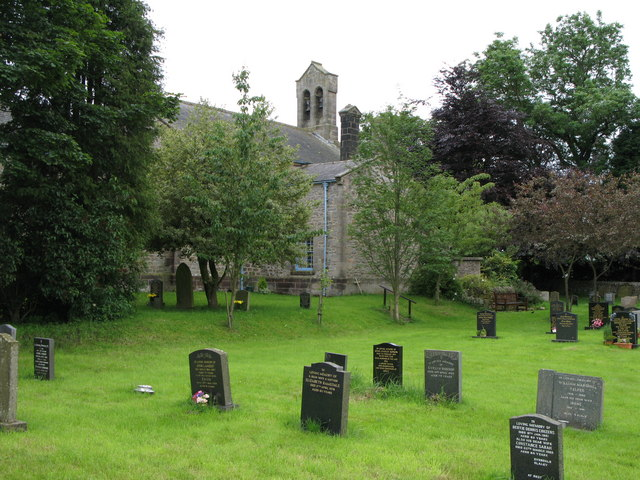 St Mary's Church and graveyard, Slaley