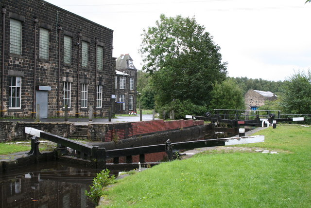 Thickone Lock No 43, Rochdale Canal, Lancashire