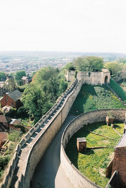 Lincoln Castle and view therefrom