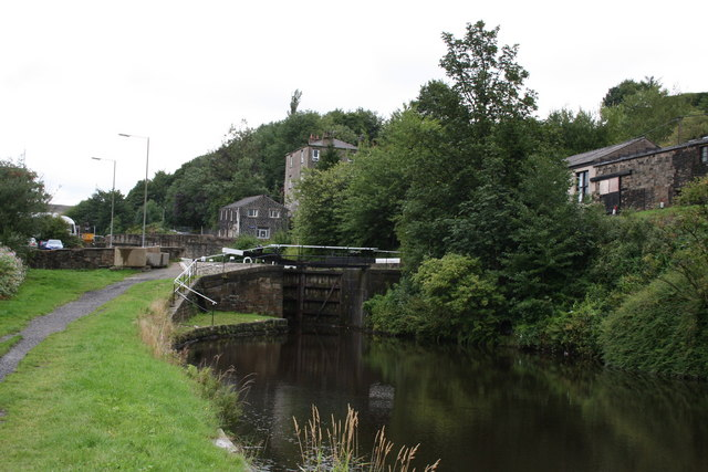 Lock No 42, Second below Punchbowl, Rochdale Canal, Lancashire