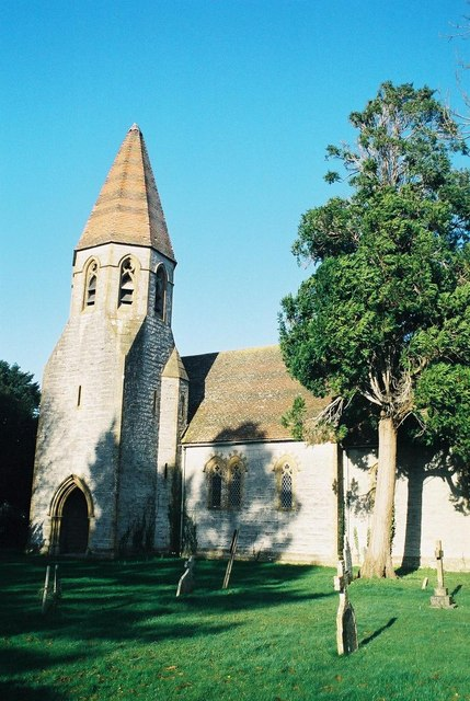 Isle Brewers: parish church of All Saints