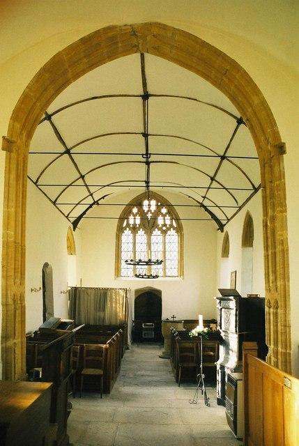 Swell church: interior