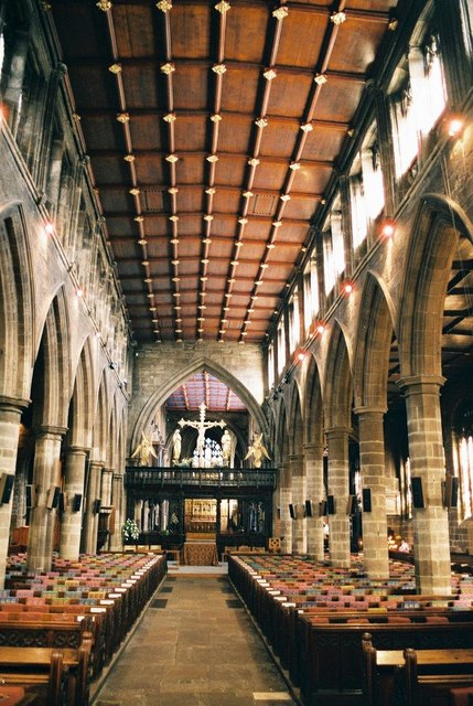 Wakefield Cathedral: interior
