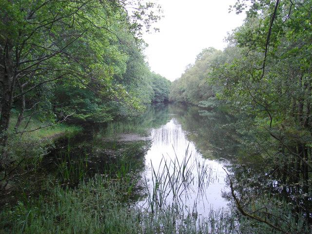 Reservoir on the Abhainn Achnacree