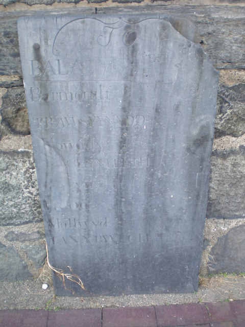 Slate Plaque outside the Courthouse.