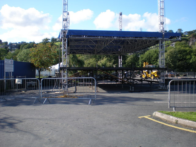 The Main Stage.