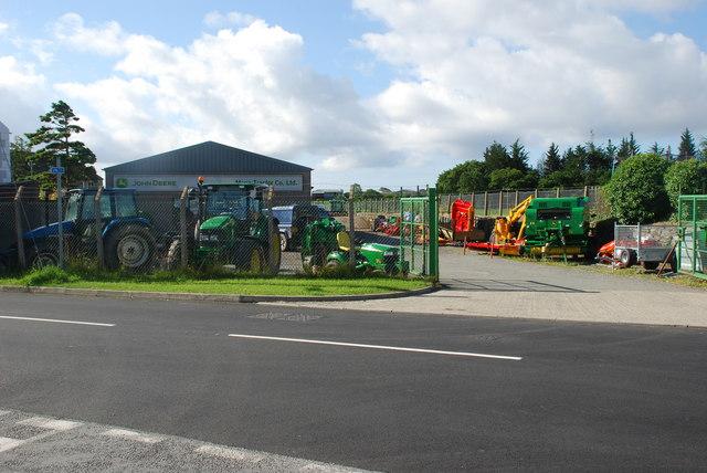 """Mona Tractors"" Chwilog"