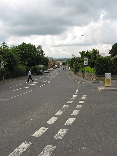 Lake Lock Road/Mount Road junction