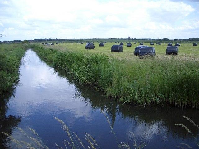 Drainage Ditch North of Burnham Norton