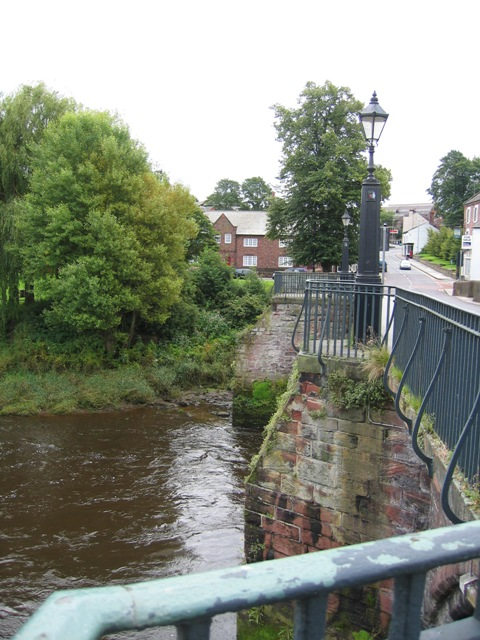 Old Dee Bridge Buttresses