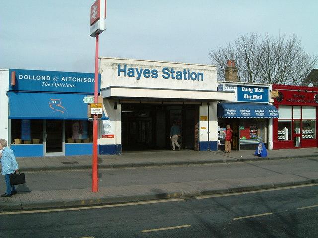 Hayes (Kent) Station