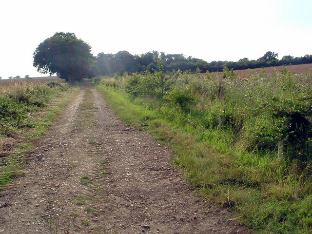 Footpath near Keyston