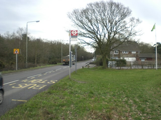 Croydon Road A232 and West Wickham Common