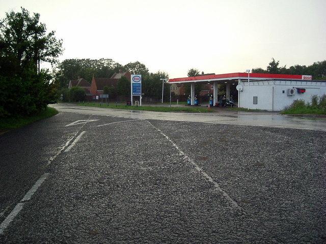 Filling station at Spaldwick