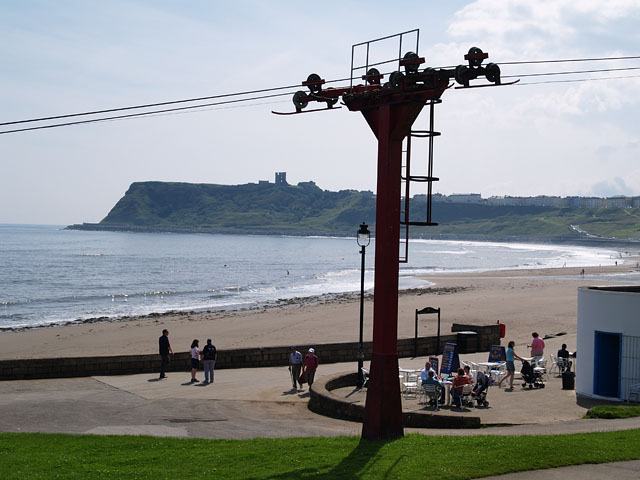 Chair Lift and Promenade Cafe