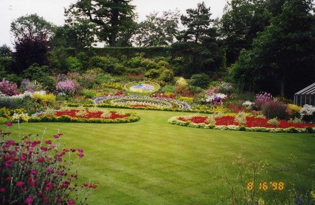 A garden at Broughton