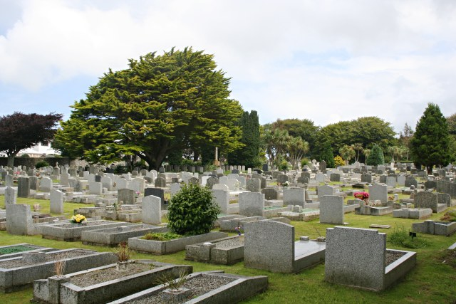 Penzance Cemetery at Heamoor